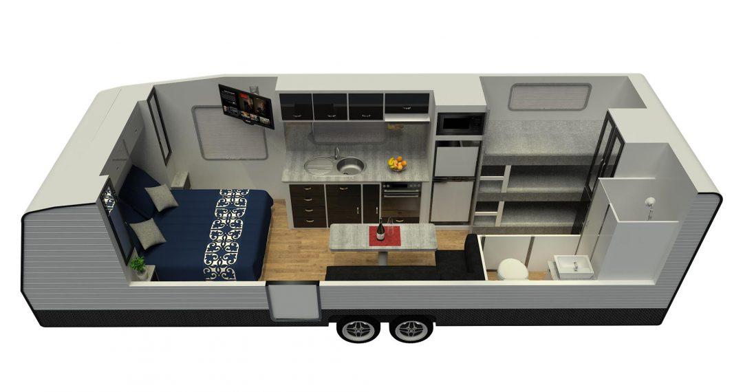 23ft Ultimate Family Design Floor Plan
