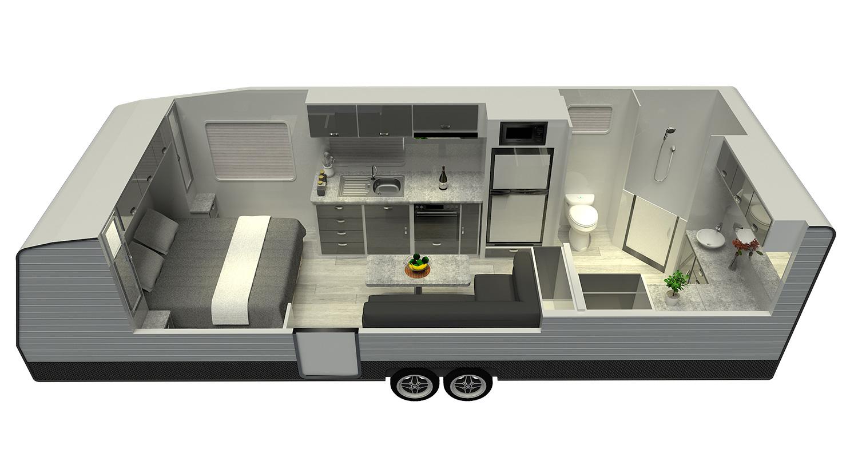 Land Bruiser - Floor Plan